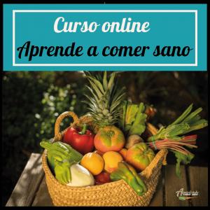 Curso online Aprende a comer sano