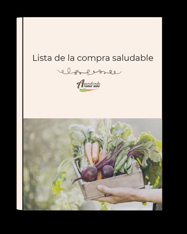 ebook lista de la compra saludable